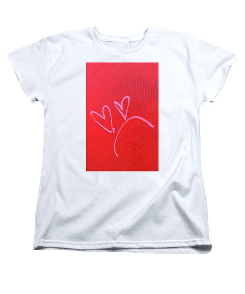 Women's T-Shirt (Standard Cut) featuring the photograph Love's Disappointments by Art Block Collections