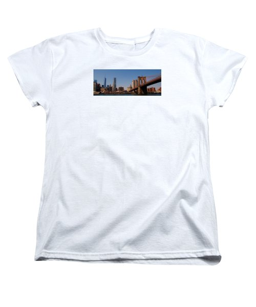 Lower Manhattan Nyc Women's T-Shirt (Standard Cut)