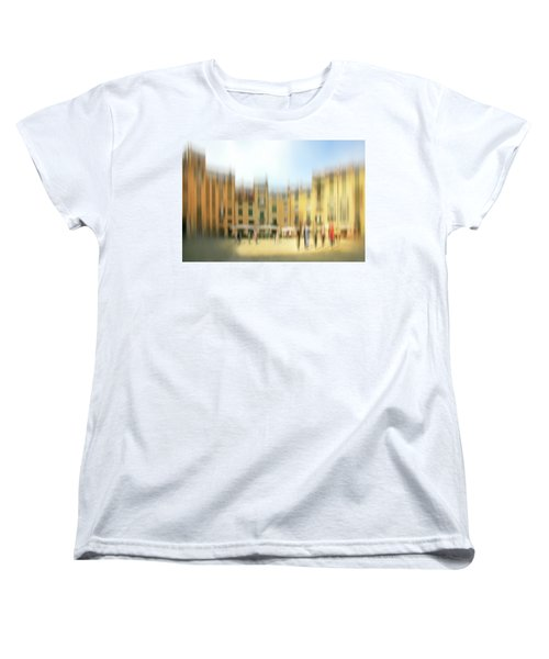 Lucca Ampitheatre Impression 1 Women's T-Shirt (Standard Cut) by Marty Garland