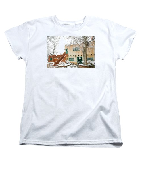 Women's T-Shirt (Standard Cut) featuring the photograph Mabel Dodge House 2 by Marilyn Hunt