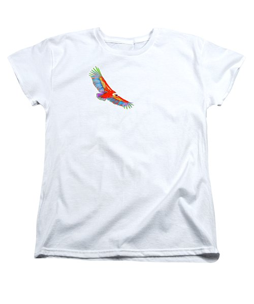 Macaw Vulture Women's T-Shirt (Standard Cut) by Richard Patmore