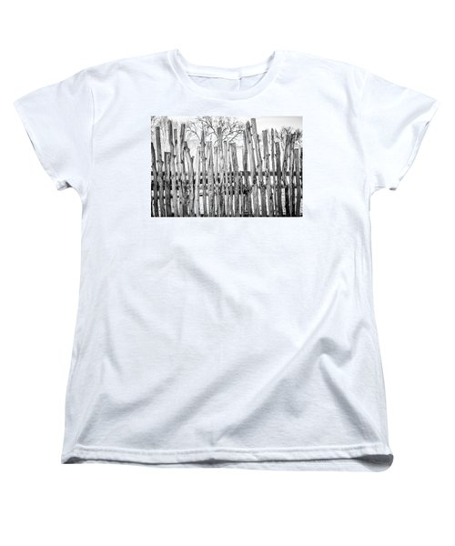 Women's T-Shirt (Standard Cut) featuring the photograph Made From Nature by Marilyn Hunt