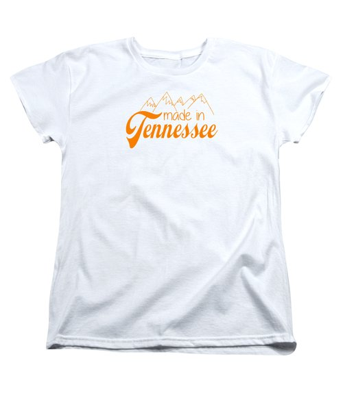 Made In Tennessee Orange Women's T-Shirt (Standard Cut) by Heather Applegate
