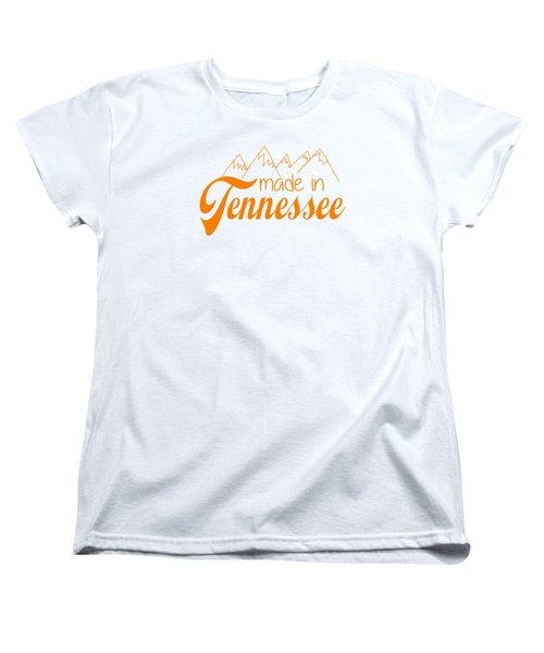 Made In Tennessee Orange Women's T-Shirt (Standard Cut)