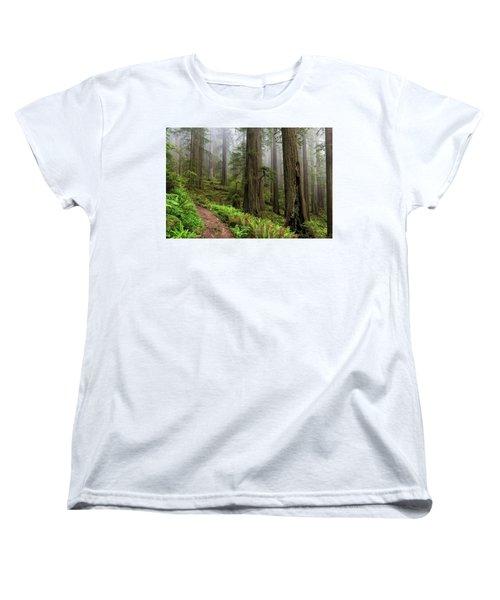 Magical Forest Women's T-Shirt (Standard Cut) by Scott Warner