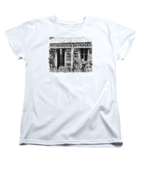 Women's T-Shirt (Standard Cut) featuring the photograph Maiden History 2 by Susan Kinney