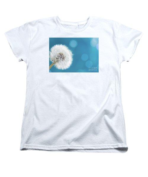 Make A Wish  Women's T-Shirt (Standard Cut) by Anastasy Yarmolovich
