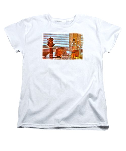 Making Music 002 Women's T-Shirt (Standard Cut) by Barry Jones