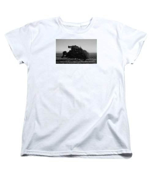 Women's T-Shirt (Standard Cut) featuring the photograph Malformed Treeline by Clayton Bruster