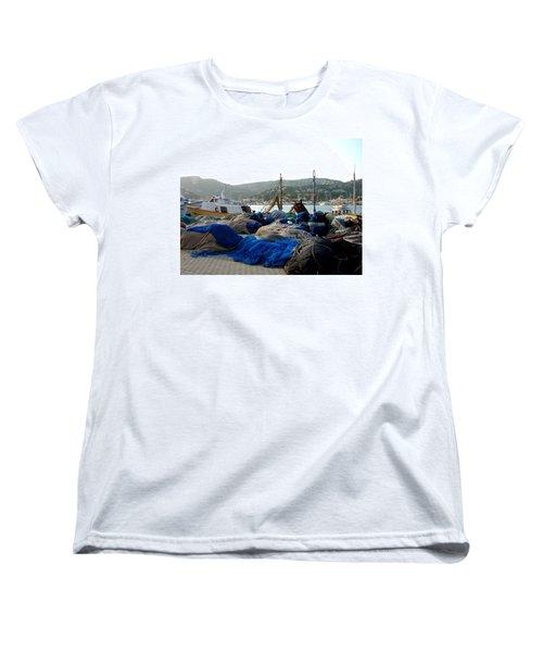 Women's T-Shirt (Standard Cut) featuring the photograph Mallorca 2 by Ana Maria Edulescu
