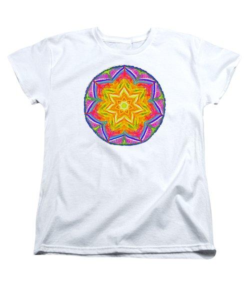 Mandala 12 20 2015 Women's T-Shirt (Standard Cut) by Hidden Mountain