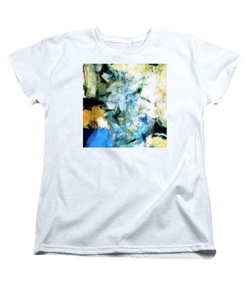 Women's T-Shirt (Standard Cut) featuring the painting Manifestation by Dominic Piperata