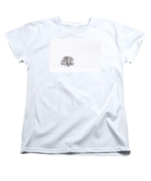 Manitoba Winter Women's T-Shirt (Standard Cut) by Yvette Van Teeffelen