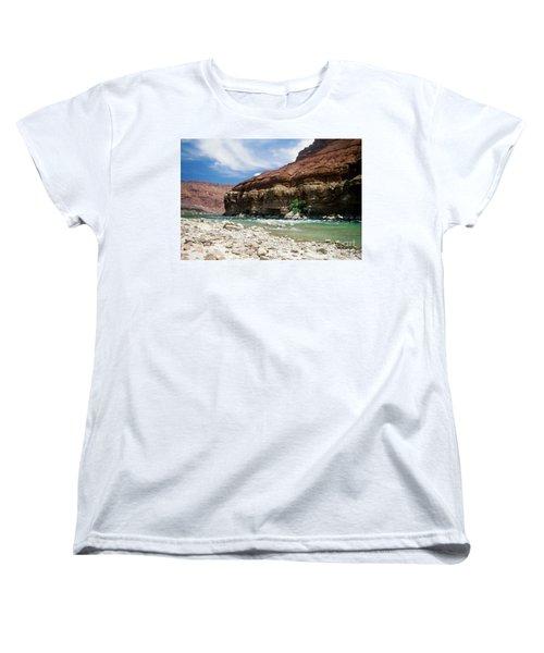 Marble Canyon Women's T-Shirt (Standard Cut) by Kathy McClure