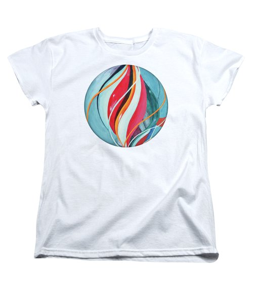 Marble Women's T-Shirt (Standard Cut) by Jutta Maria Pusl