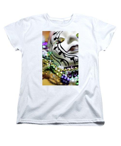 Mardi Gras I Women's T-Shirt (Standard Cut) by Trish Mistric