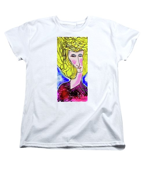 Maria Women's T-Shirt (Standard Cut) by Ted Azriel