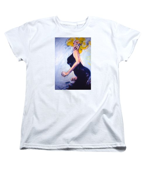 Marilyn Dancing Women's T-Shirt (Standard Cut) by Les Leffingwell