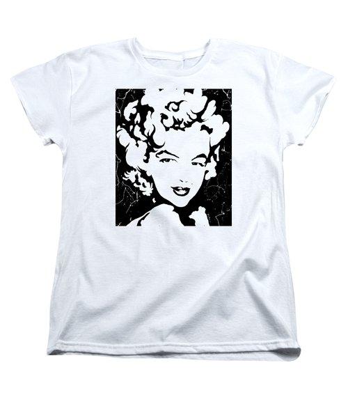 Marilyn Monroe Women's T-Shirt (Standard Cut) by Curtiss Shaffer