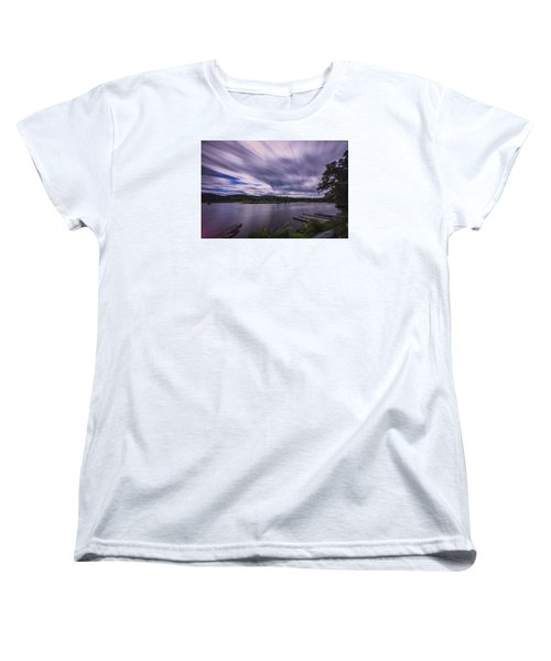 Women's T-Shirt (Standard Cut) featuring the photograph Marina Sky by Tom Singleton