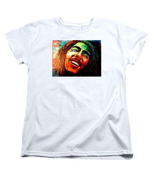 Marley Women's T-Shirt (Standard Cut) by Ken Pridgeon