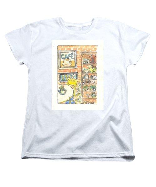 Martello Alley Women's T-Shirt (Standard Cut) by David Dossett