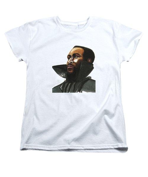 Marvin Gaye Women's T-Shirt (Standard Cut)