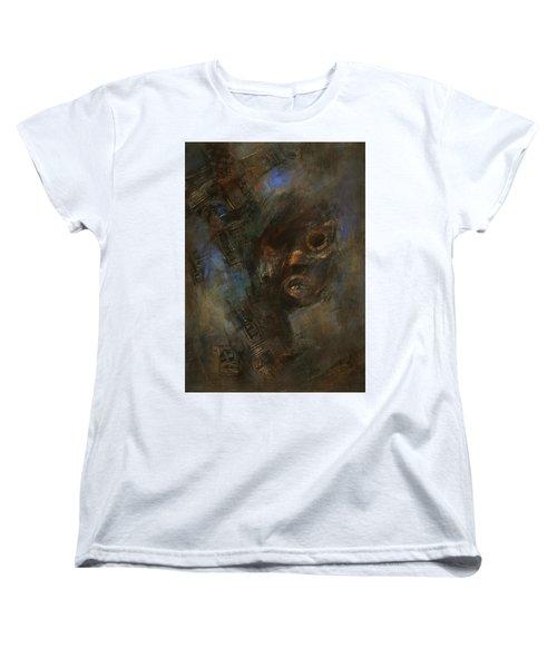 Hidden Women's T-Shirt (Standard Cut) by Behzad Sohrabi
