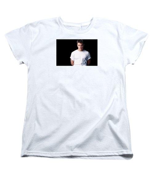 Matt Damon Women's T-Shirt (Standard Cut) by Iguanna Espinosa
