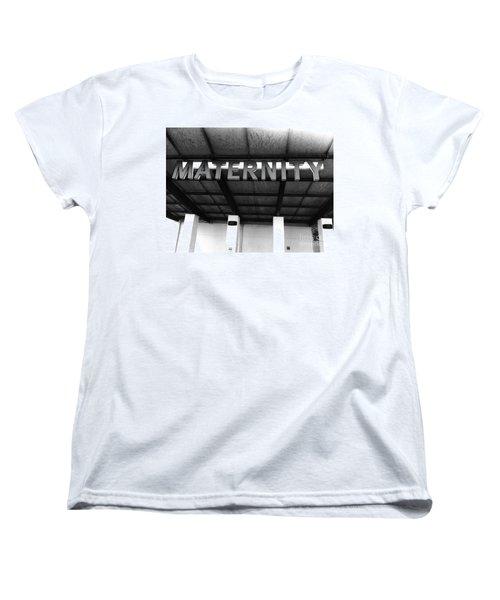 Maternity  Ward Women's T-Shirt (Standard Cut) by WaLdEmAr BoRrErO