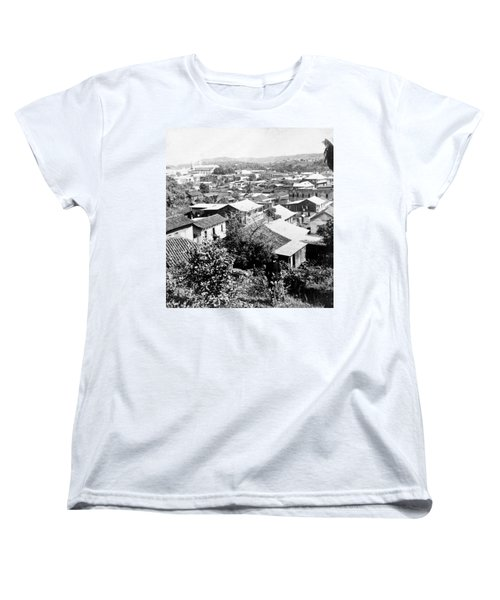 Mayaguez - Puerto Rico - C 1900 Women's T-Shirt (Standard Cut) by International  Images