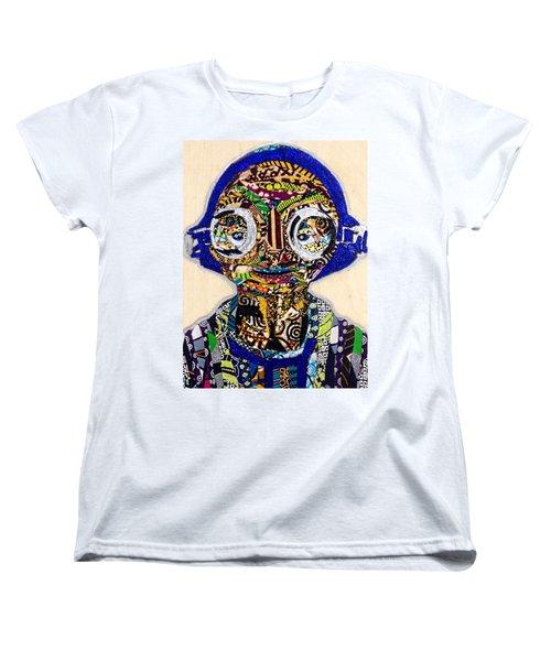 Maz Kanata Star Wars Awakens Afrofuturist Colection Women's T-Shirt (Standard Cut)