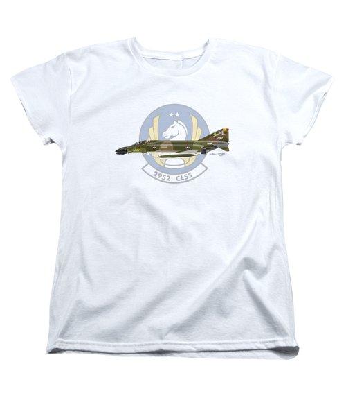 Mcdonnell Douglas F-4d Phantom II Hill Women's T-Shirt (Standard Cut) by Arthur Eggers