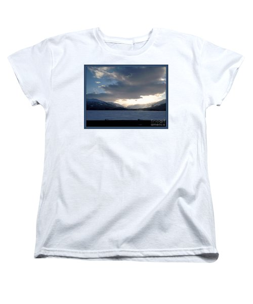 Women's T-Shirt (Standard Cut) featuring the photograph Mckinley by James Lanigan Thompson MFA