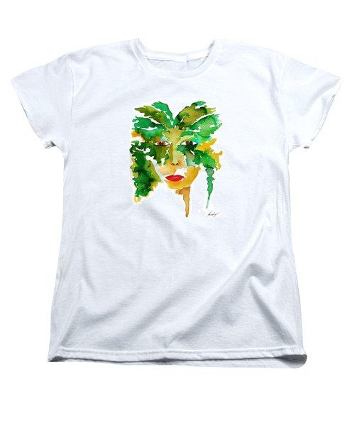 Medeina Goddess Of The Woodland Forest Women's T-Shirt (Standard Cut)