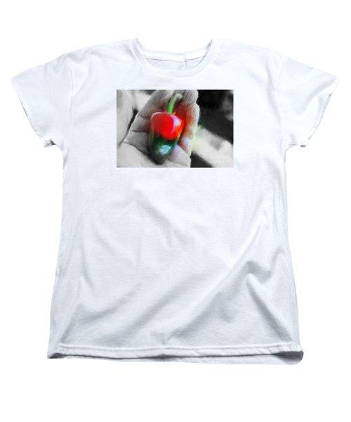 Medio Maduro Misterioso Women's T-Shirt (Standard Cut) by Gerhardt Isringhaus