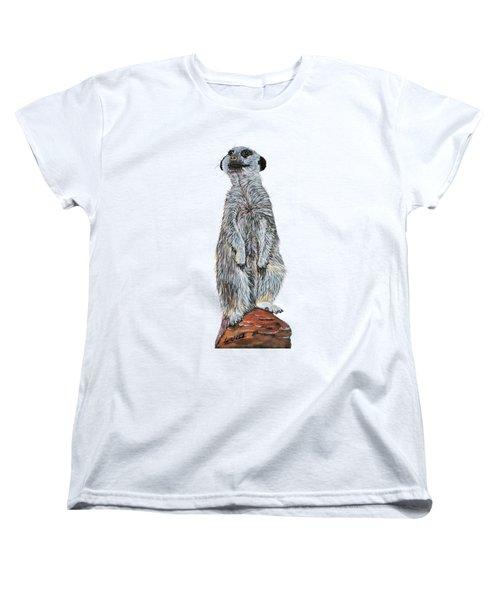 Meer Curiosity Custom Women's T-Shirt (Standard Fit)