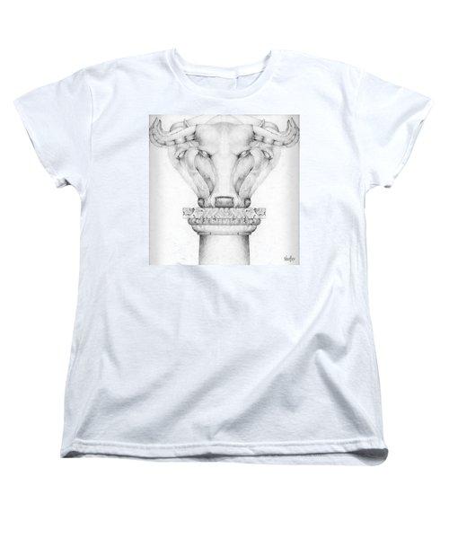 Mesopotamian Capital Women's T-Shirt (Standard Cut) by Curtiss Shaffer