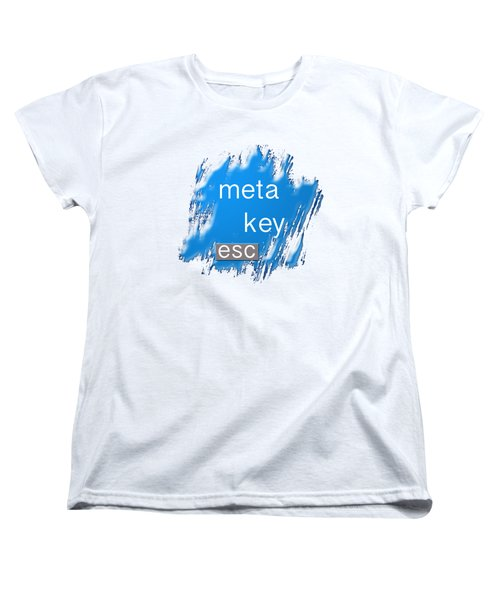 Meta Key Esc Women's T-Shirt (Standard Cut)