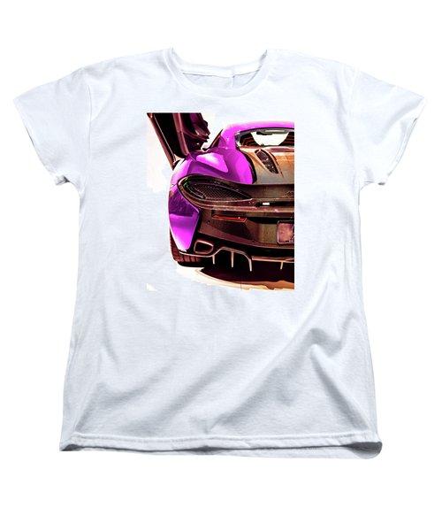 Women's T-Shirt (Standard Cut) featuring the photograph Metallic Heartbeat by Karen Wiles