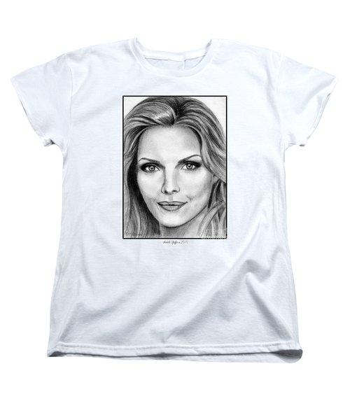 Michelle Pfeiffer In 2010 Women's T-Shirt (Standard Cut) by J McCombie
