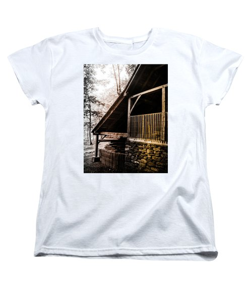 Women's T-Shirt (Standard Cut) featuring the photograph Michie Tavern No. 5 by Laura DAddona