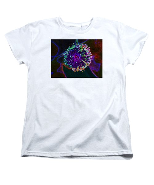 Microorganism Women's T-Shirt (Standard Cut) by Samantha Thome