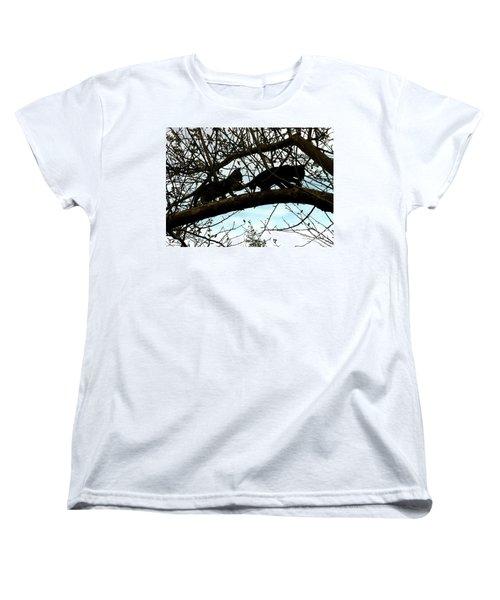Women's T-Shirt (Standard Cut) featuring the photograph Midi 3 by Wilhelm Hufnagl
