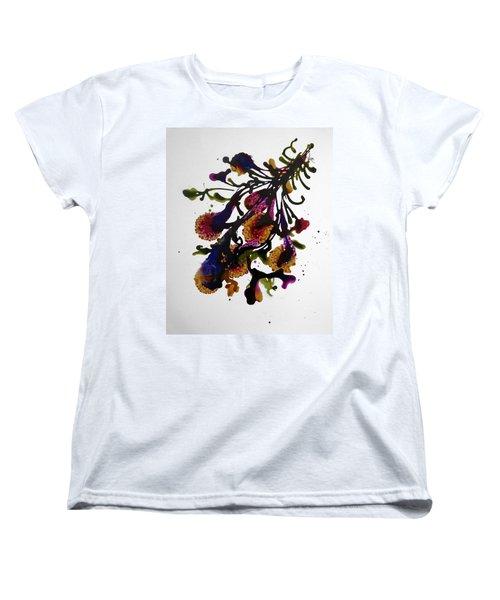 Midnight Magic-2 Women's T-Shirt (Standard Cut) by Alika Kumar
