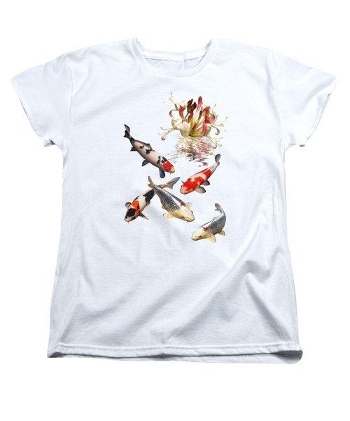 Midnight Reflections Women's T-Shirt (Standard Cut) by Gill Billington