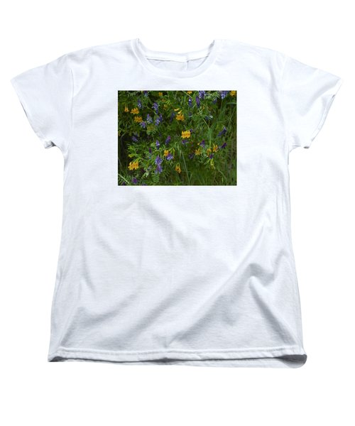 Mimulus And Vetch Women's T-Shirt (Standard Cut) by Doug Herr