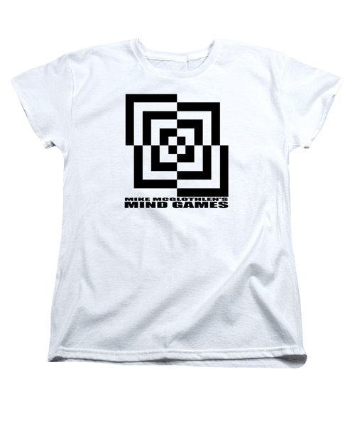 Women's T-Shirt (Standard Cut) featuring the drawing Mind Games 10se by Mike McGlothlen