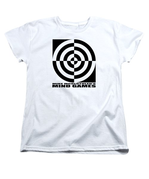 Women's T-Shirt (Standard Cut) featuring the drawing Mind Games 1se by Mike McGlothlen