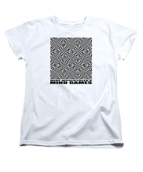Women's T-Shirt (Standard Cut) featuring the drawing Mind Games 61se 2 by Mike McGlothlen